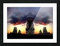 nube 49 Picture Frame print