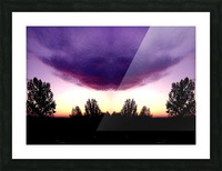 nube 50 Picture Frame print