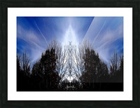 nube 56 Picture Frame print