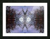 nube 57 Picture Frame print