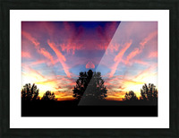 nube 58 Picture Frame print