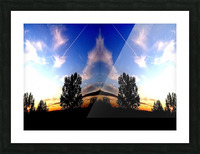 nube 59 Picture Frame print