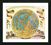 Ancient World Map 11 Picture Frame print