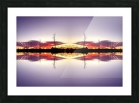 Sky 5 Picture Frame print