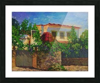 Little_Spanish_House Picture Frame print