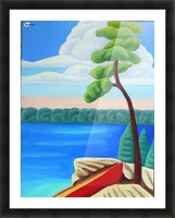 Georgian Bay Shores Picture Frame print