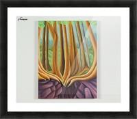 Cedar Edge Picture Frame print