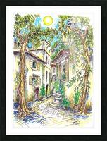 Siesta_Italiana Picture Frame print
