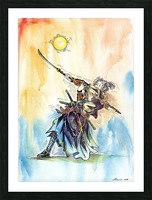 The_Warrior_s_Way Picture Frame print