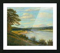 Okah_River_In_August Picture Frame print