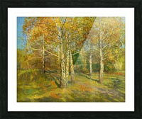Birch_Trees_In_Tsaritsyno Picture Frame print