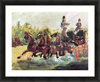 Count Alphonse de Toulouse-Lautrec Picture Frame print