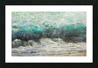 The_Wave Picture Frame print