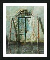 Venetian_Door Picture Frame print