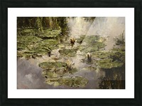 Old_pond Picture Frame print