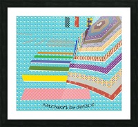 Patchwork by dePace Picture Frame print