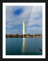 Washington Monument Picture Frame print
