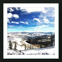Brighton Resort Back Country Picture Frame print