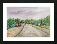 Way to Goa_DKS Picture Frame print