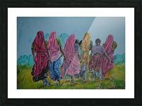 Village Women_DKS Picture Frame print