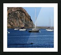 Morro Rock Picture Frame print