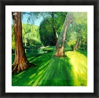 Arboretum shades Picture Frame print