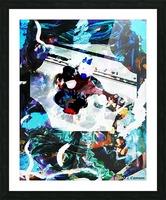 Strumming Patterns Picture Frame print