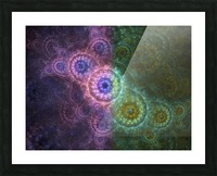 Path of Harmony Picture Frame print