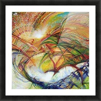 Feathers of the Phoenix Picture Frame print