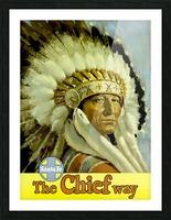 USA Santa Fe New Mexico USAEdited Picture Frame print