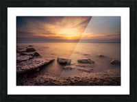 Point Petre Sunset Picture Frame print