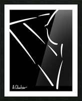 Nude 32 Picture Frame print