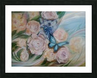 Flowers. Miracle. Picture Frame print