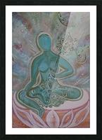 Green Buddha Tara Picture Frame print