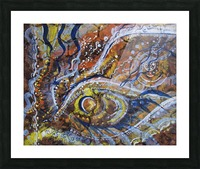 A celebration of Cedar from the Shamanic dance Picture Frame print