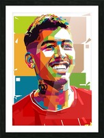 Roberto firmino Picture Frame print
