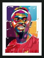 Sadio mane Picture Frame print
