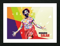 Mohamed salah Picture Frame print