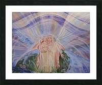 Keepers of the Earth  Picture Frame print