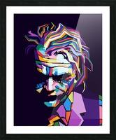 Joker Picture Frame print