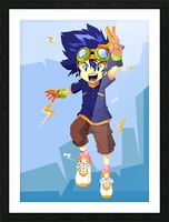 Digimon Picture Frame print