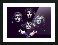 Queen Picture Frame print