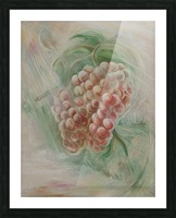 Grapes 14 Picture Frame print