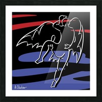 Abduction of Ganymede Picture Frame print