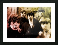 Rolling stones Picture Frame print