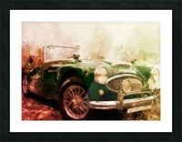 Car vintage Picture Frame print