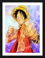 Luffy Picture Frame print