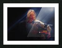 Kurt Cobain Live MTV Unplugged Picture Frame print