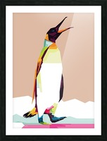 Penguin Picture Frame print