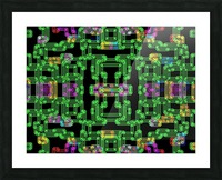 Colorful PIPES Picture Frame print